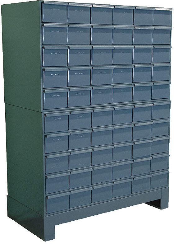 Drawer Cabinet,D 11 3/4,With