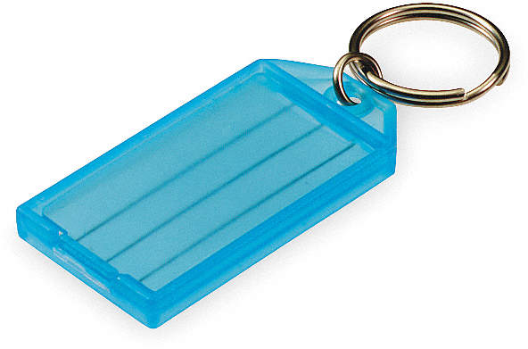 Id Key Tags With Flap,Assorted,