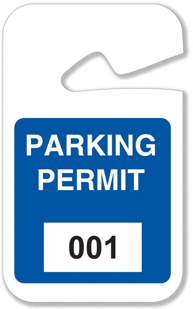 Parking Permits,Rearview,001-