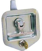 T-Latch,Flush-Mounted,