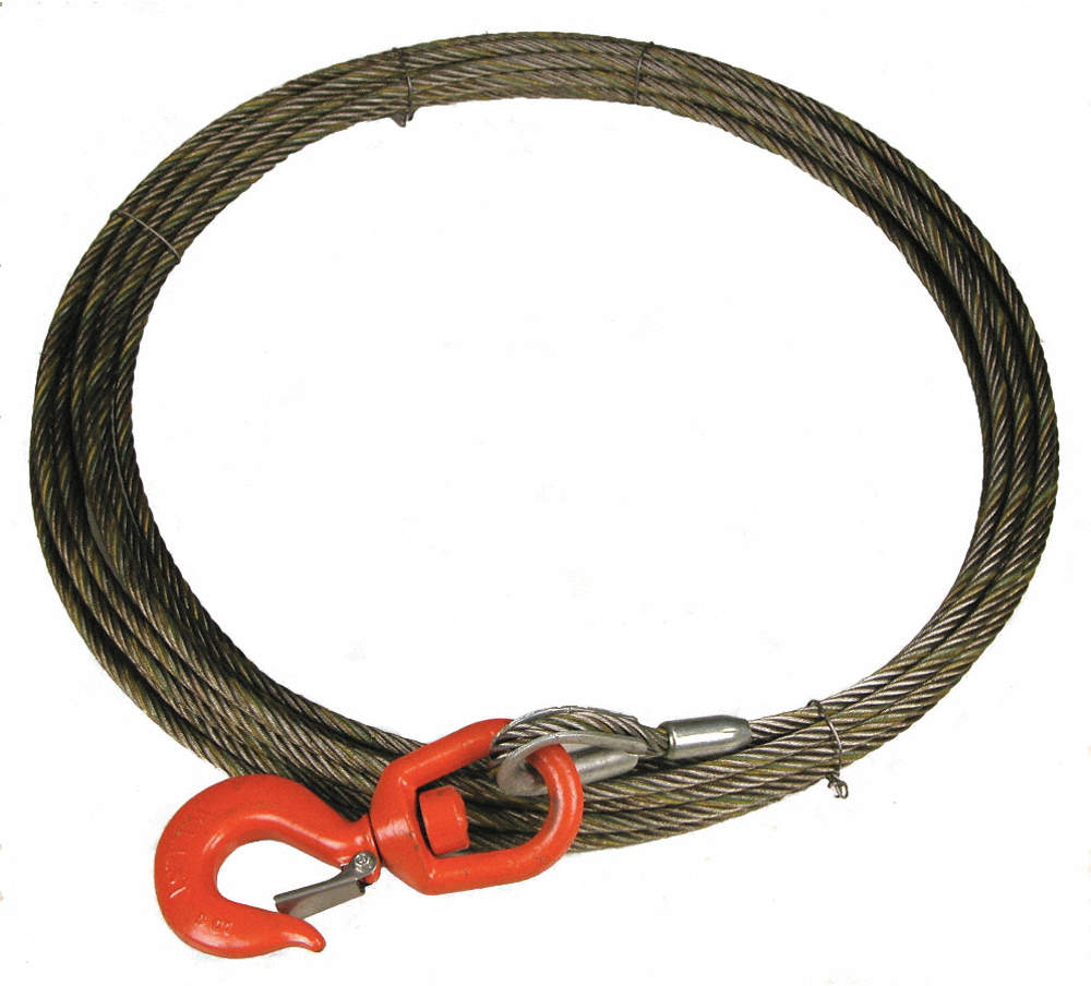Winch Cable,Fc,3/8 In. x 100
