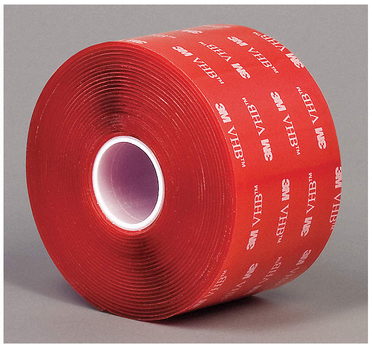 Vhb Tape,40 Mil,W 2 In,L 5 Yd,