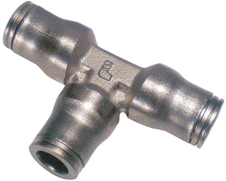 Union Tee,6mm,Tube,Nickel