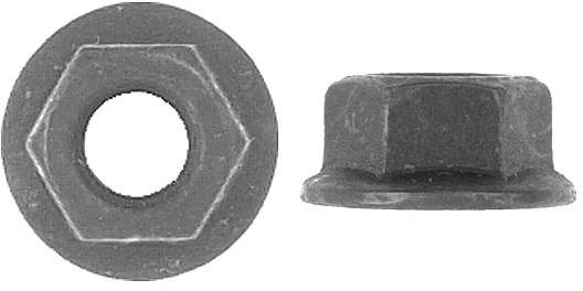 Hex Flange Nut,10 To 1.50mm,