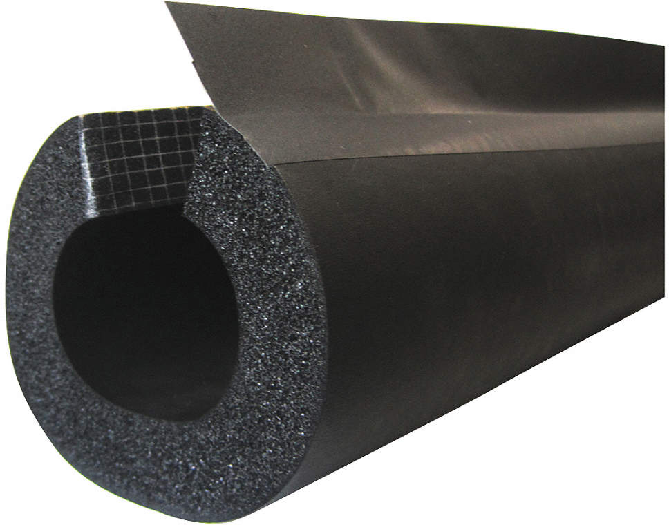 Pipe Insulation,Elstmrc,1/2in.