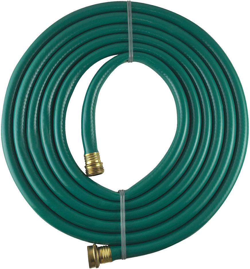 Water Hose,Cold,PVC,15 Ft.,