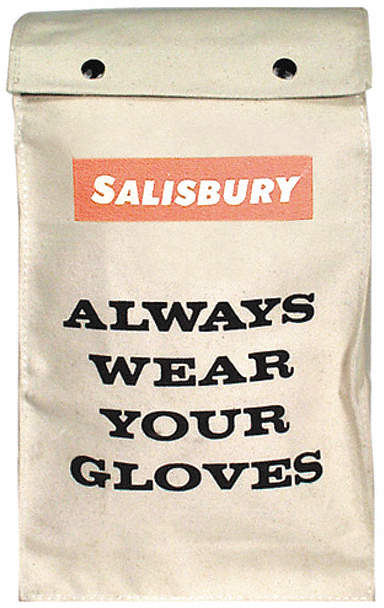 Glove Bag For Rubber Gloves14""