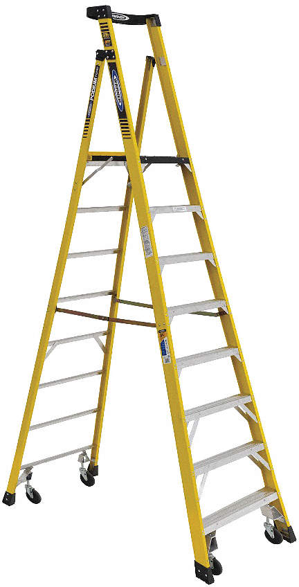 Podium Stepladder,PD7300,8 Ft