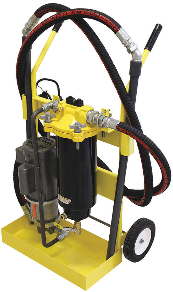 Diesel Fuel Filter Cart,