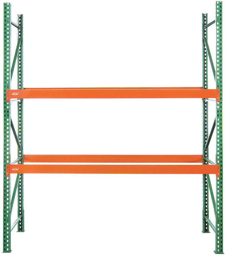 Pallet Rack,Steel,120 In. H,