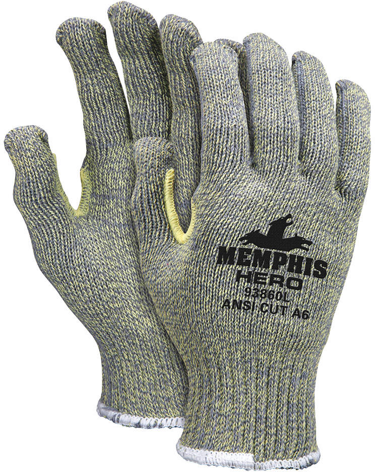 Cut Resistant Gloves,S,Knit,