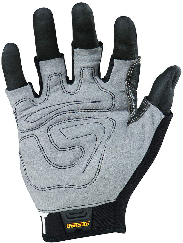 Impact Gloves,M,Gray/Black/