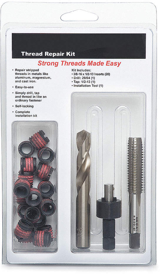 Thread Repair Kit,5/16-24,23
