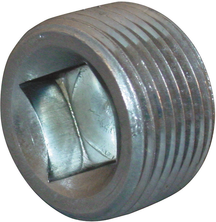 Square Recessed Head Plug,3/4