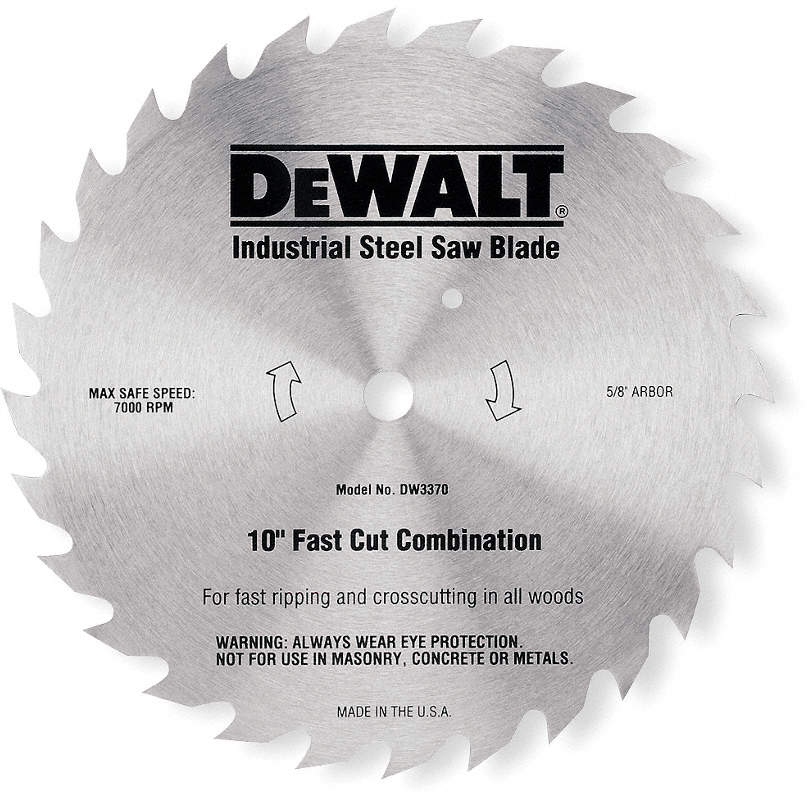 Crclr Saw Bld,Steel,7-1/4 In,
