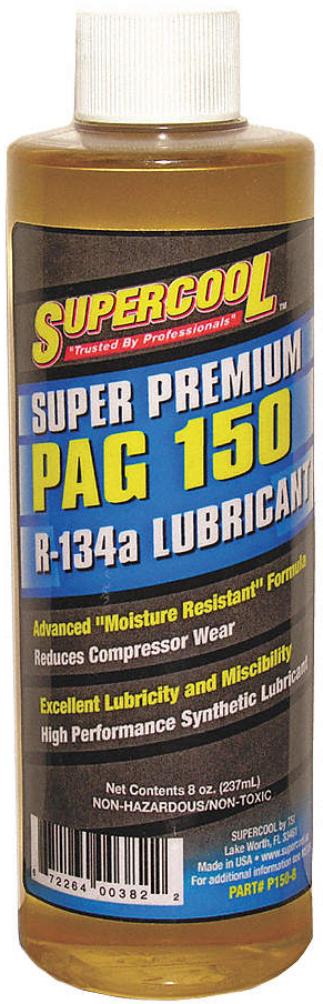 A/C Comp Pag Lube,8 Oz,Flash