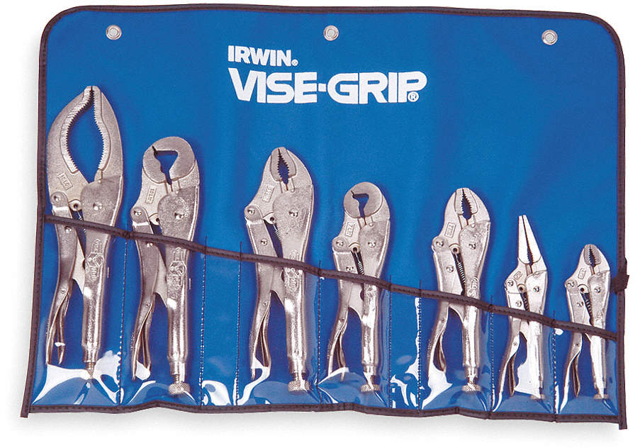 Locking Pliers Set,Curved,
