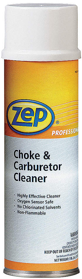 Choke And Carb Cleaner,20 Oz,