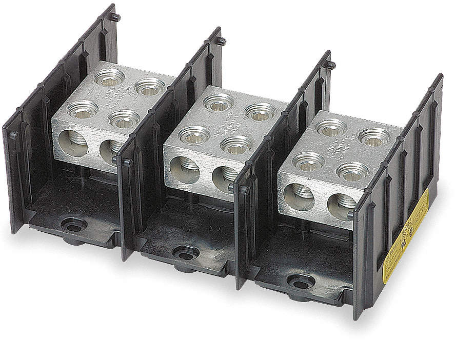 Pwr Dist Block,620A,3P,4AWG-