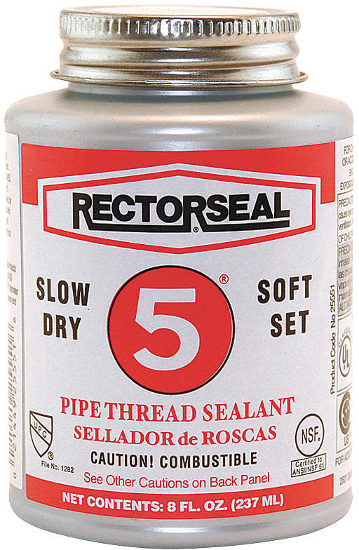 Thread Sealant,8 Oz.,Yellow