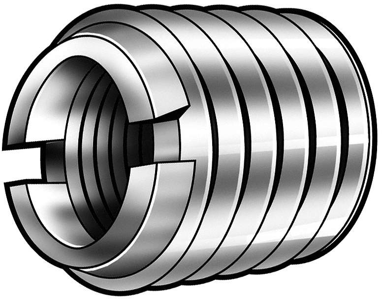 Thread Insert,7/16-14x21/32 L,