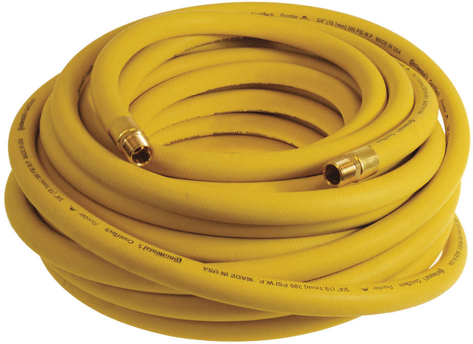 "Air Hose,Yellow,3/4"",100 Ft.,"
