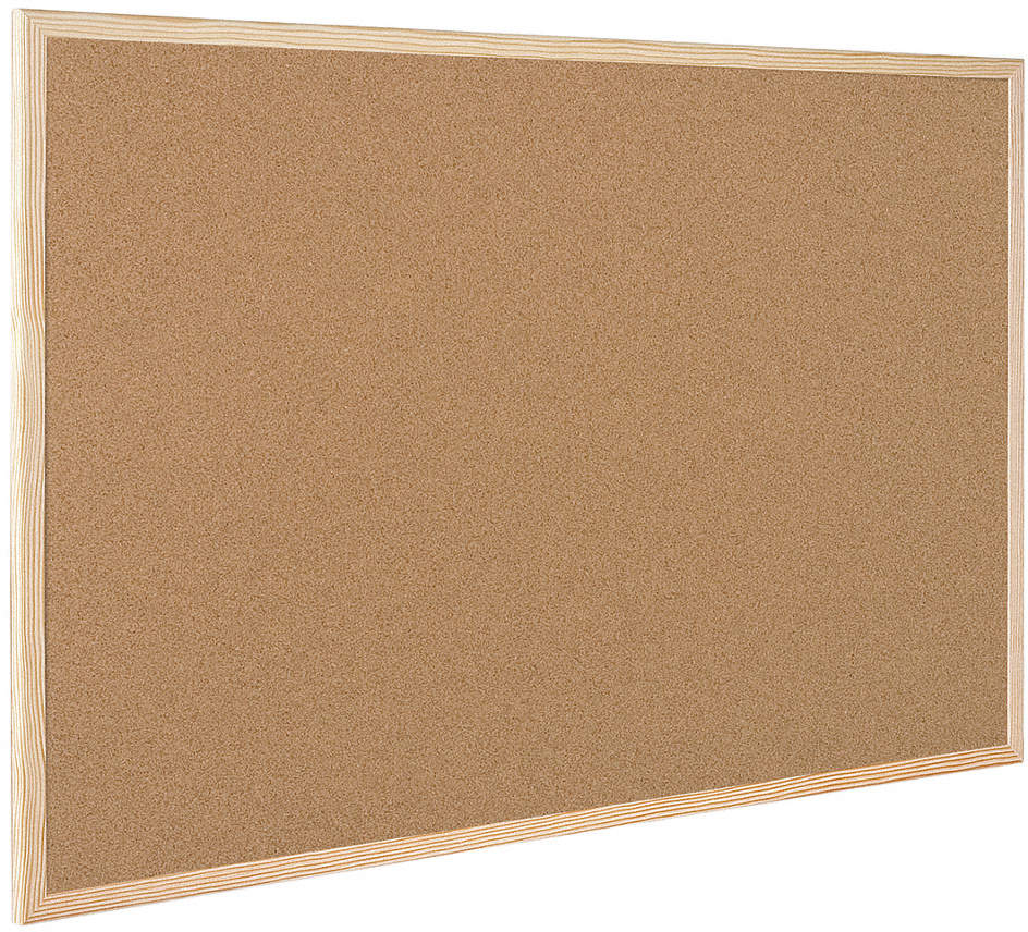 "Bulletin Board,Cork,35-13/32"" W"