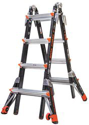 Combination Ladder,15 Ft. Ext.