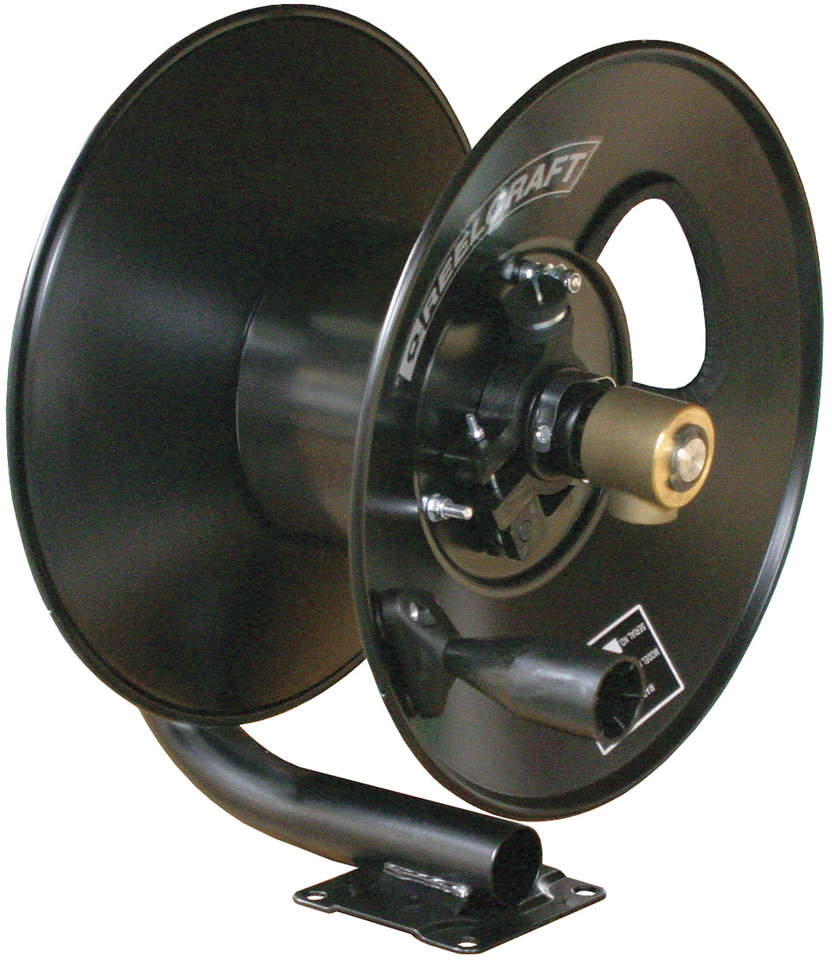 Hose Reel,Hand Crank,3/8 In Id