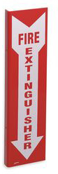 Fire Extinguisher Sign,18 x 4-