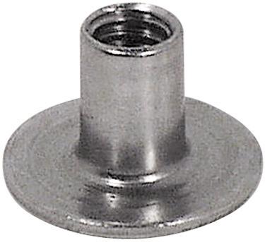 6216 Sleeve Nut Steel 1 4 Quot 20 100 Pk