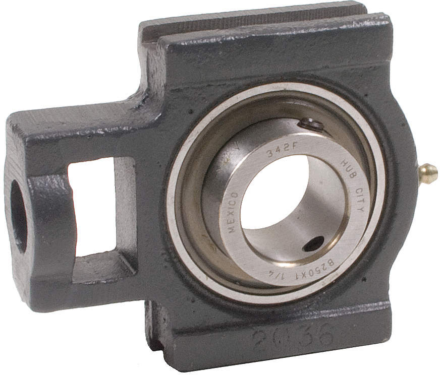Take-Up Bearing,Bore 1 In,Wide