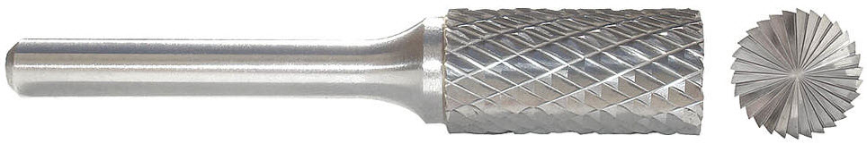 Carbide Bur End Cut 1/4 In 1/4