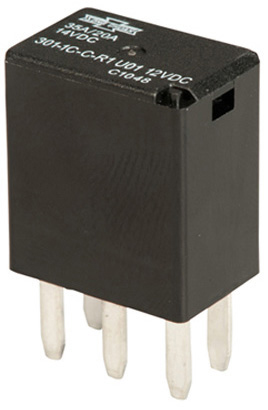 74258 Micro ISO Relay with Resistor 2035 A