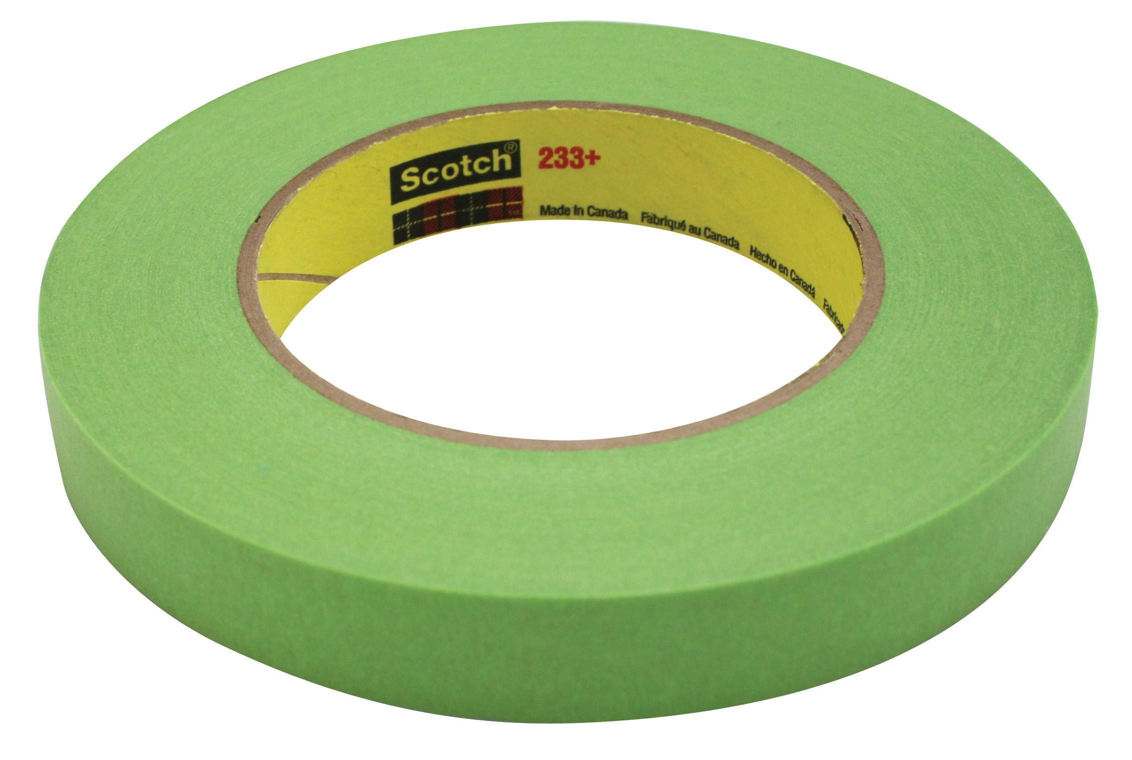 "Green 3M Masking Tape,Paper,Green,3//8/"" 233+"