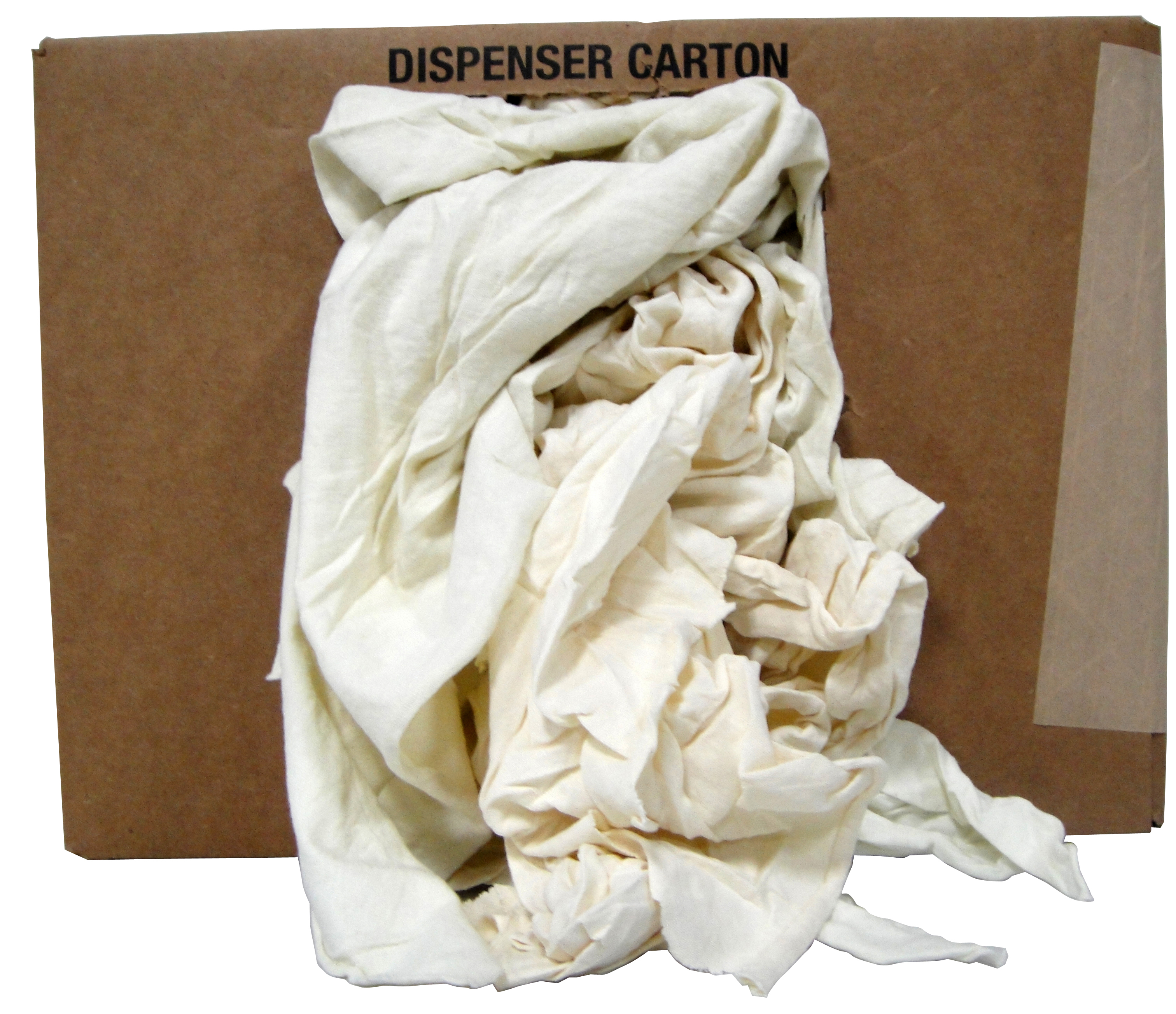 reclaimed 4 lb. cotton terry cloth cleaning towels rags dispenser box-