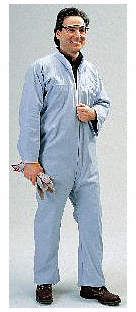Coverall,2XL,Blue