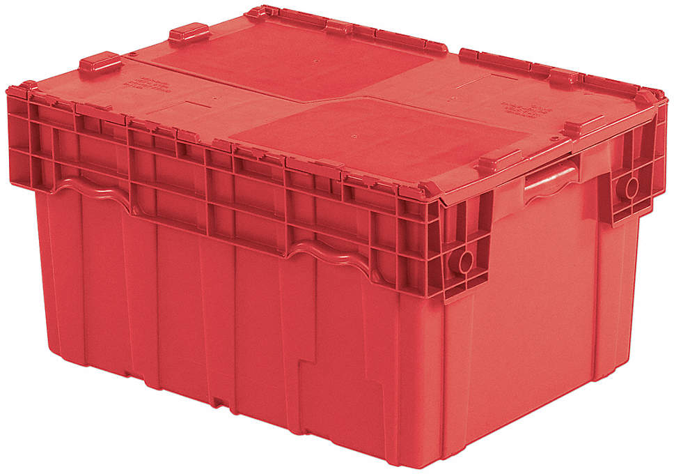 Attached Lid Container,4.0 Cu