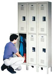Wardrobe Locker,Unassembled,2-