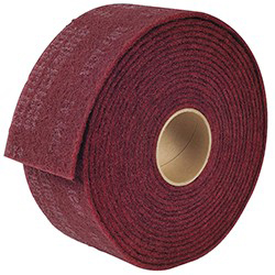 Lt Deburring Roll,6Inx30Ft,PK2
