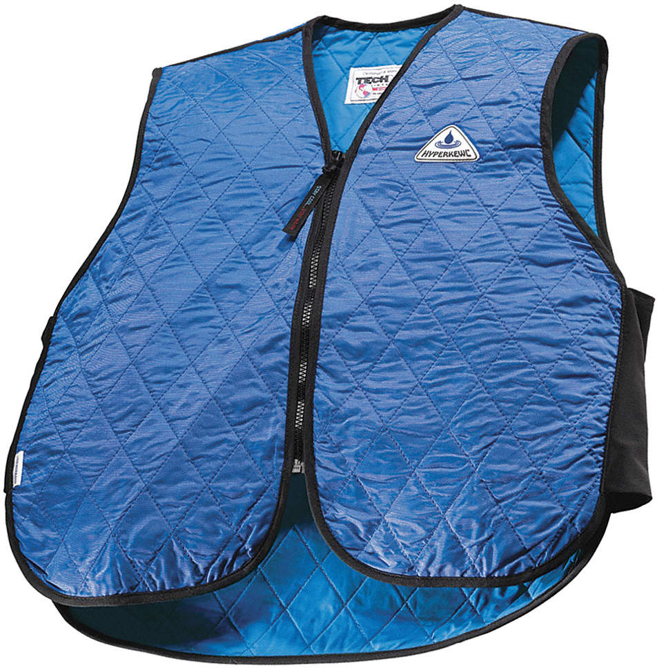 Cooling Vest,M,Blue,Nylon