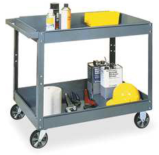 Mobile Utility Cart, 500lb Cap
