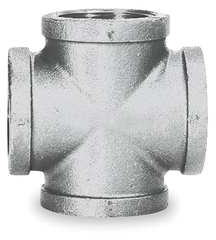 "Pipe Cross, 1/2"" Galv, 300/150"