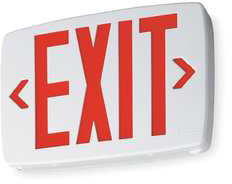 Safety Sign, LED - Exit