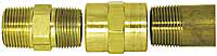 Brass Pipe Thread Fitting Illustration