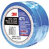 Safety Warning Tape, Solid, Continuous Roll, 2