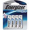 Ultimate Lithium AA Battery,  Lithium,  High Performance,  1.5VDC,  PK 4