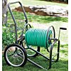 Portable Hose Cart, Steel, 17 In. Dia.