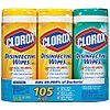 Disinfecting Cleaning Wipes, (3) 35 ct. Canister, Fragrance: Citrus, Fresh, Size: 7