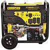 Electric/Recoil Gasoline Portable Generator 9200W Gas Elec Start, 11,500 Surge Watts, 120VAC/240VAC